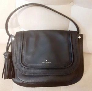 Medium Kate Spade Rianne Black Leather hand bag